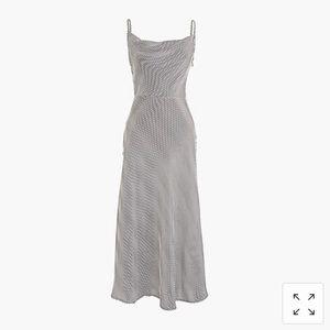 J.Crew Silk Slip Dress